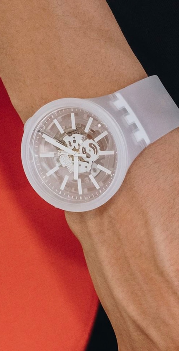 image 2 Montre Swatch BIG BOLD JELLY